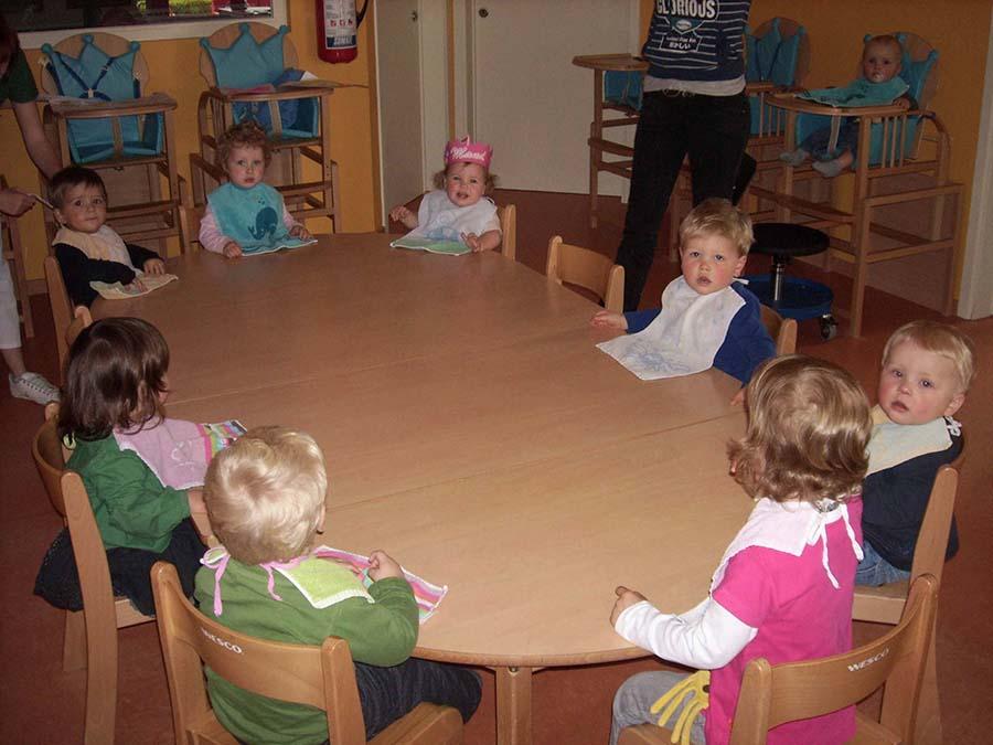 Kindjes in groep